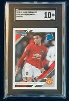 2019 Panini Chronicles Soccer Mason Greenwood Rated Rookie SGC 10 Low Pop #109