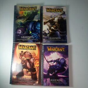 Warcraft Legends #1, 2, 3 & 5 2008 Tokyopop Manga