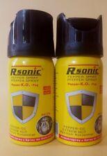 2 x Dosen Pfeffer Spray Pfefferspray   40ml zur Tierabwehr Abwehrspray Reizgas