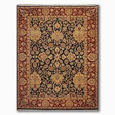 "8'8"" x 12'6"" Hand Knotted Oushak Design 100% Wool Oriental Area Rug 9x12"
