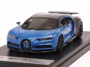Bugatti Chiron Sport Open Wing Grey Carbon/French Racing B 1:43 LOOKSMART LS490B