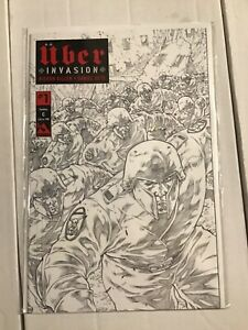 Uber Invasion #1 Century C Variant NM/M limited to 100 sketch cover Avatar