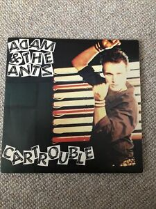 ADAM AND THE ANTS Car Trouble 7 INCH VINYL UK Do It 1980 Pic Sleeve DUN10