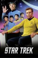Star Trek Classic Poster Characters 61 x 91,5 cm Plakat Wandbild Deko Dekoration