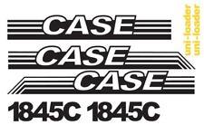 Vinyl Decal Graphics Case 1845C Skid Steer Set Sticker Wrap Aftermarket 1845 C