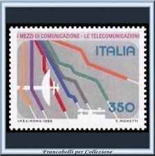 1986 Italia Repubblica Mezzi Comunicazione n. 1769 **
