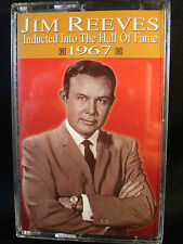 Jim Reeves, Inducted Into The Hall Of Fame-1967-cassette tape-FREE SHIPPING-