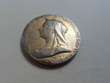 Queen Victoria Diamond Jubilee 1897 Gilded Silver Medal (4282)