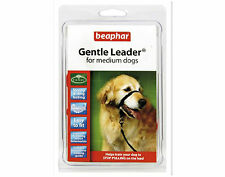 Beaphar Gentle Leader For Medium Dogs Black Halter like control Collar