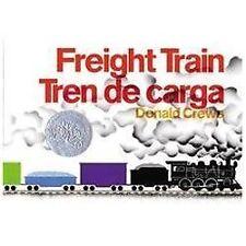 Freight Train/Tren de Carga by Donald Crews (2003, Hardcover)