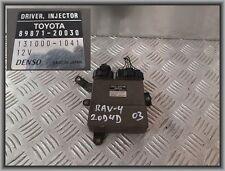 Toyota RAV4 II 2.0D Steuergerät Driver Injektor Motor 89871-20030 131000-1041