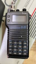 Icom receiver/scanner IC-R1 with new battery