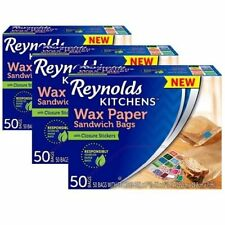 Beautiful Reynolds Kitchens Wax Paper Sandwich Bags (150 Count)