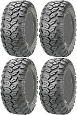 Four 4 Maxxis Ceros ATV Tires Set 2 Front 26x9-12 & 2 Rear 26x11-12 MU07