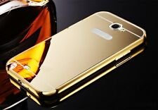 Metal Mirror Case iPhone 4 5 6 7 Samsung Galaxy S5 7 Note 3 4 5 Reflective