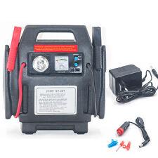 900Peak Amp 12 Volt Jump Starter Battery Charger Air Compressor Booster Pack Car