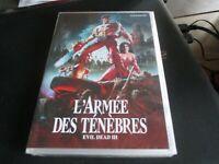 """DVD NF """"L'ARMEE DES TENEBRES (EVIL DEAD 3)"""" Bruce CAMPBELL / Sam RAIMI - horreur"""
