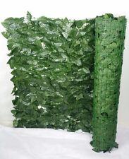 Artificial / Fake Ivy Rolls (PEACH LEAF) 3m Long by 1m Wide (UV). Extra Dense