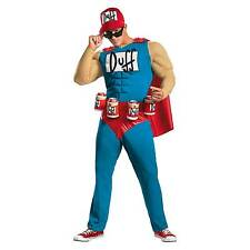 Funny Simpsons Duffman Halloween Costume for Mens BRAND Disguise X Large 42 16