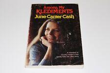 Johnny Cash & June Carter Cash Signed Among My Klediments Autograph Book Beckett