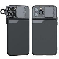 6 in 1 Kamera Objektiv Fisheye Macro CPL Wide Angle Case Hülle für iPhone 11 Pro