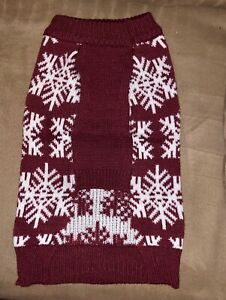 Cozy Pet Deluxe Dog Sweater. Big Selection of Styles and Sizes (S, M & L) NEW