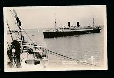 Mexico VERACRUZ maritime Steamer  Frances Espagne Shipping c1920/30s? RP PPC