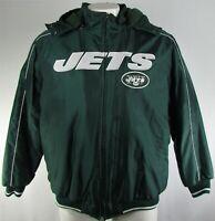 New York Jets NFL G-III Men's Full-Zip Hooded Winter Jacket