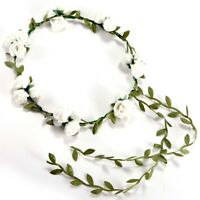 Fascia Accessori per capelli da sposa floreale matrimonio testa ghirlanda faZ7N3