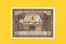 SIEBLEBEN / GOTHA (ALLEMAGNE) BILLET-MONNAIE de NECESSITE illustré BIBLIOTHEQUE