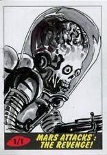 Mars Attacks The Revenge [2017] Sketch Card By Marisol Henriquez