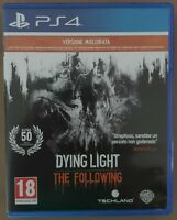 Playstation 4/Ps4 DYING LIGHT THE FOLLOWING ENHANCED EDITION VERSIONE ITALIANA