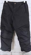 LANDS' END KIDS Winter Snow Pants Snowpants Boy's Size 10H HUSKY Black