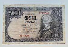Billete 5000 pesetas 1976   BC
