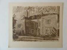 Print The Rookery Nantwich by G.W. Hooper 1946
