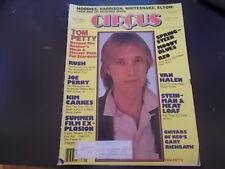 Tom Petty, Kim Carnes, Joe Perry - Circus Magazine 1981