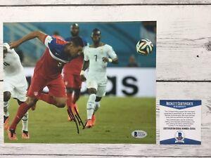 Clint Dempsey Signed Autographed Team USA U.S.A 8x10 Photo Beckett BAS COA a