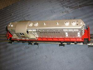 LIONEL TRAINS ENGINE POST WAR NUMBER 2328 BURLINGTON