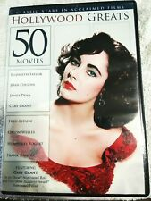Classic Stars in Acclaimed Films Hollywood Greats 4-Dvd Set 20 Movies Vg/Excell
