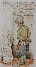 "#2163 Anton Pieck Print 5 sheets  5.25""X 3"" HOLLAND"