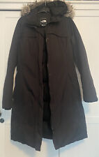 The North Face Womens Black Artic Down Parka Long Waterproof Coat