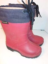 Kamik Red Boots small kids todlers girls size 11