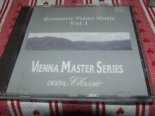 Vienna Master Series: Romantic Piano Music  CD  Chopin Liszt etc