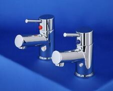 Bath Taps Low Pressure Two Tap Hole Modern Heavy Solid Brass M50JLS02