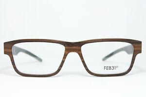 XL FEB31St APUS Original Brille Eyeglasses Occhiali Bril Gafas Wood Holz Handmad