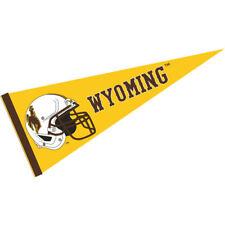 "Wyoming Cowboys 12"" X 30"" Football Helmet Pennant"