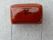 2 condensateurs polypropylene 2,2uF 250V 5% HJC MPP