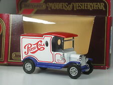 TOP: Matchbox MoY Y-12 Ford Model T 1912 Pepsi in OVP