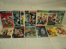 Comic Album 1-16 (miss.#8) SET Solid! 1958-1962 Dell Comics (s 8706)