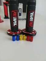 Pro Taper Grips  Trials Motocross  With Free Alloy Dust Caps